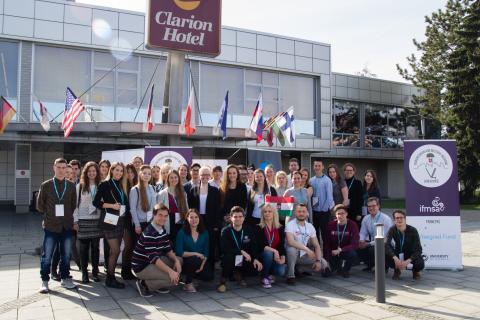 MOSZ delegáció a V4 Konferencián Ostravában